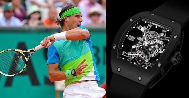 Часы Рафаэля Надаля Richard Mille RM 027 выставят на аукционе Only Watch 2011