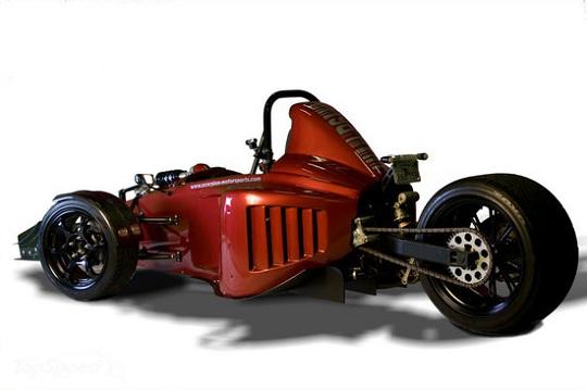 Scorpion  P6 - трайк нового поколения