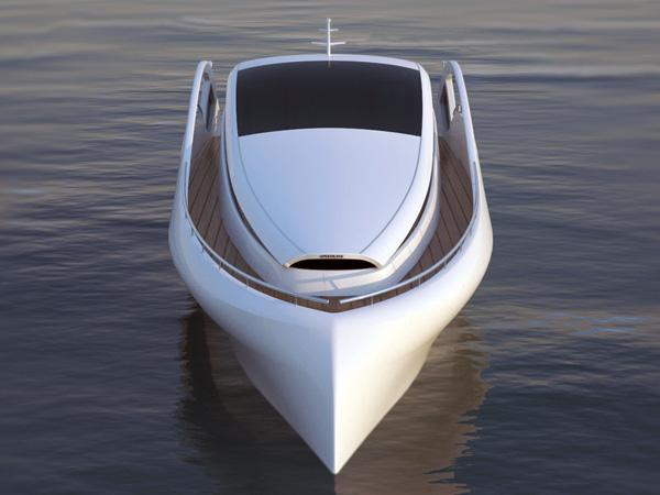 Элегантная яхта Speedline от Пьетро Руссоманно
