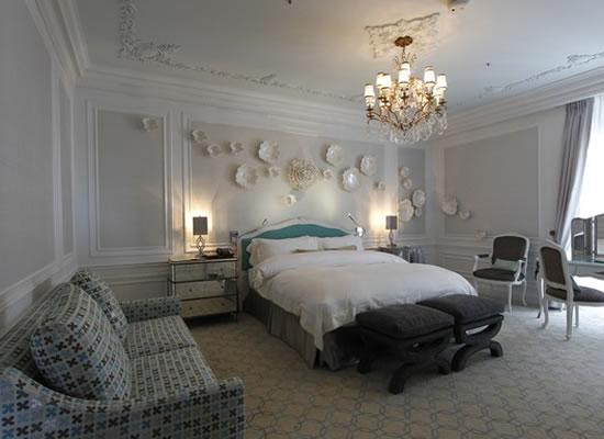 Роскошные апартаменты для влюбленных Tiffany в отеле St. Regis Нью-Йорк
