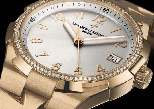 Женские часы Overseas Small Model Date Self-Winding от Vacheron Constantin