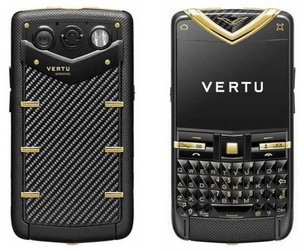 Vertu Constellation Quest Carbon Fibre - карбоновый люкс-смартфон