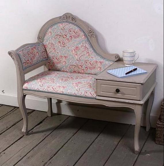 Телефонный столик от дизайнера Кети Бонас