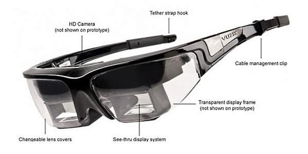 Очки дополнительной реальности Vuzix Star 1200