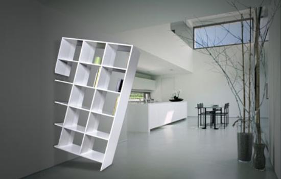 Асимметричный стеллаж от французской студии Samal Design