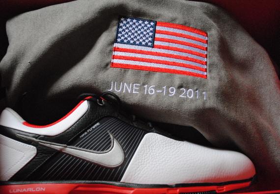 Nike презентовал туфли для гольфа специально к U.S. Open