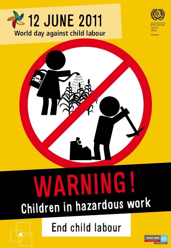 Всемирный день борьбы с детским трудом 12 июня
