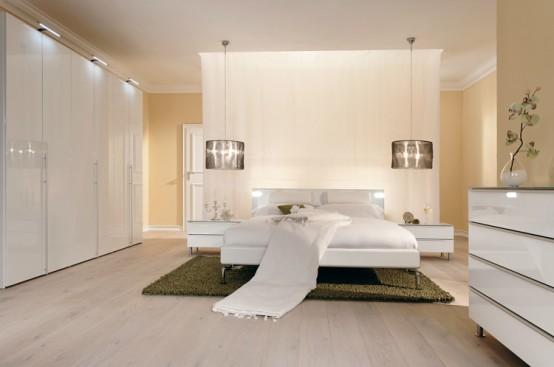 Коллекция мебели для спальни от Huelsta