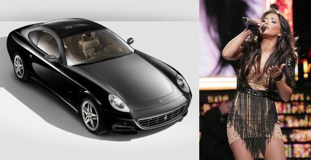 Ани Лорак подарили суперкар Ferrari 612 Scaglietti за 0 тысяч