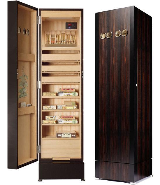 Уникальный шкаф для хранения сигар от BUBEN&ZORWEG