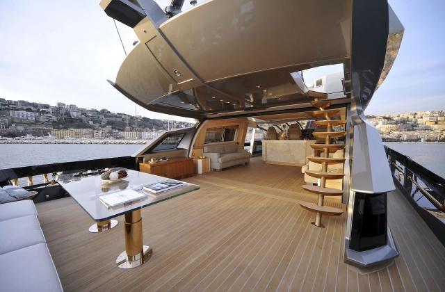 Самая дорогая яхта в мире Baia 100 HISTORY SUPREME