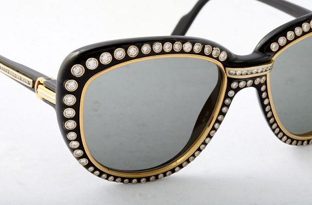 Бриллиантовые очки от Картье