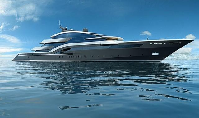 90-метровая суперяхта Oceanco от Luiz de Basto