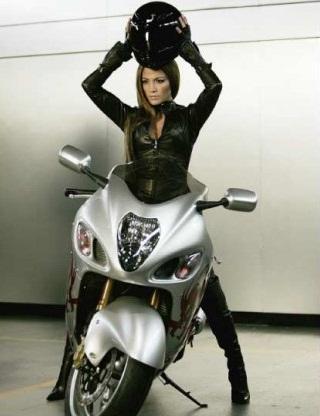 Мотоцикл Дженнифер Лопес из рекламы Pepsi выставили на продажу