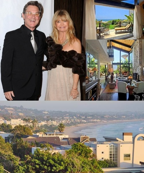 Курт Рассел и Голди Хоун продают особняк в Голливуде за $ 15 млн
