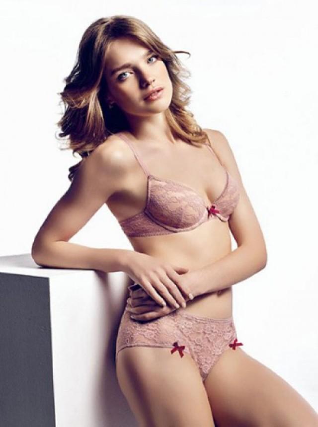 Наталья Водянова в рекламе белья Baby Love