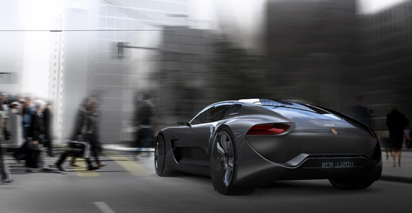 Porsche Panamera 929 - электрокар будущего