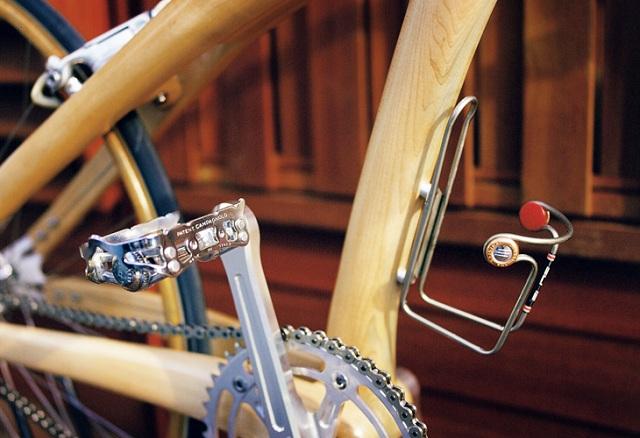 Элегантный деревянный велосипед Ricor