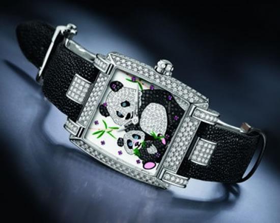 Женские часы Ladies Caprice Panda от Ulysse Nardin