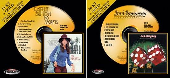CD-диски из 24К золота презентовала студия Audio Fidelity