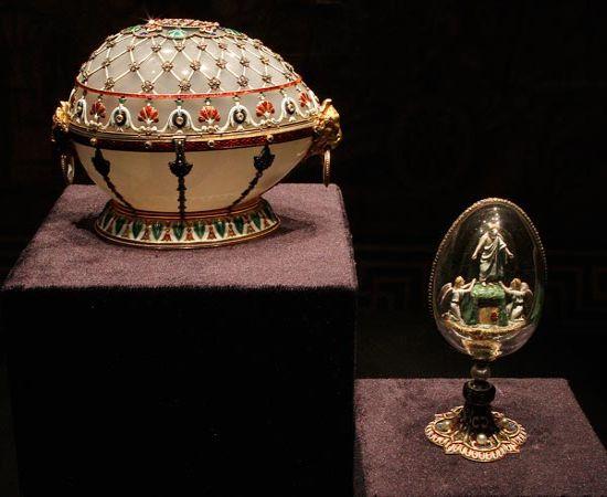 Ювелирный дом Фаберже презентовал новую коллекцию яиц