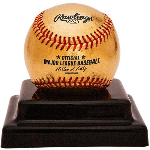 Бейсбольным мячом из 24К золота впервые поиграют на поле