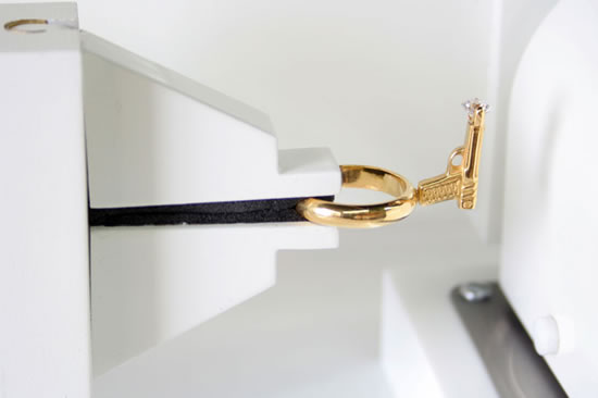Тэд Нотен представил золотое кольцо Lady Killer Vol.1 в креативной упаковке
