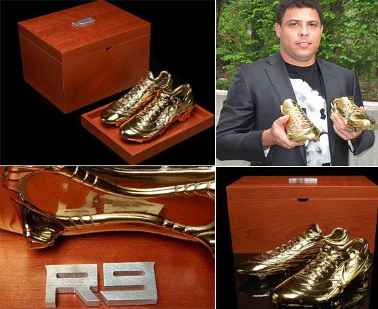 Легендарный Роналдо получил от Nike особенную награду