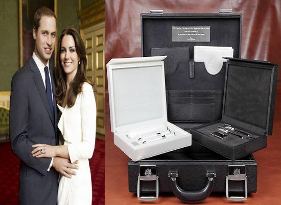 Французское правительство подарило Принцу Уильяму и Кейт Мидлтон набор чемоданов S.T. Dupont