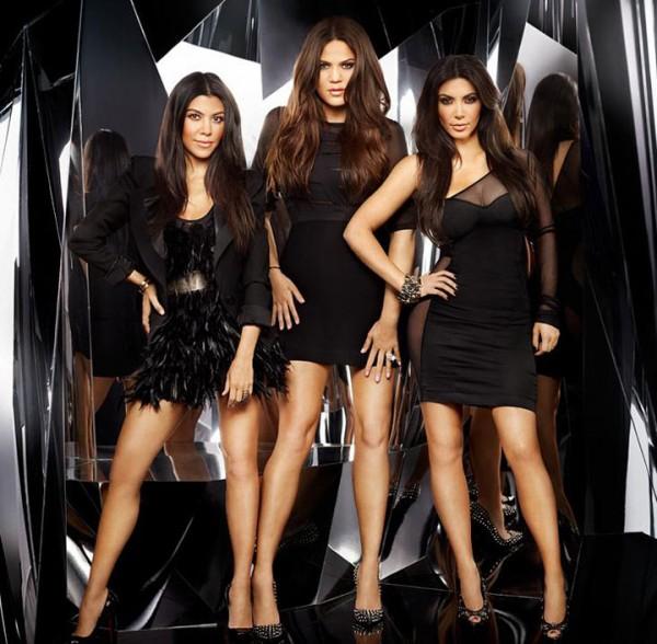 Ким Кардашьян вместе с сестрами презентовала свою коллекцию одежды