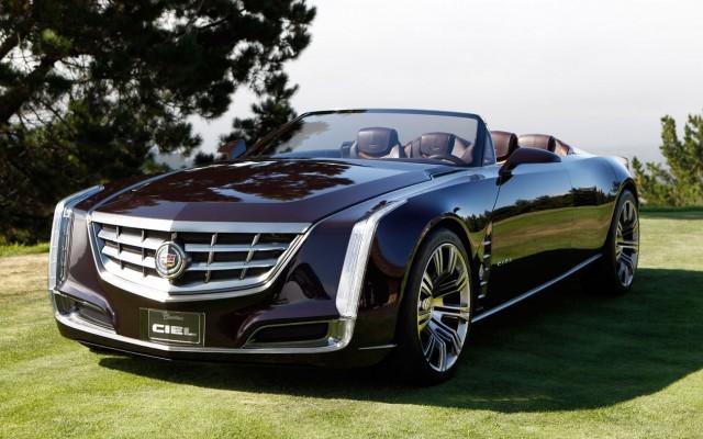 Cadillac Ciel - роскошный гибрид с открытым верхом