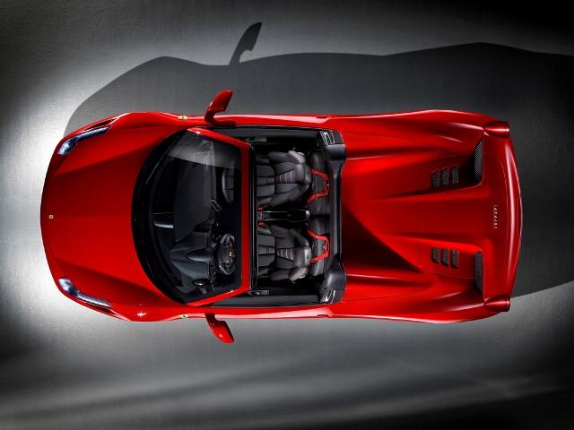 Ferrari 458 Spider официально для Франкфурта 2011