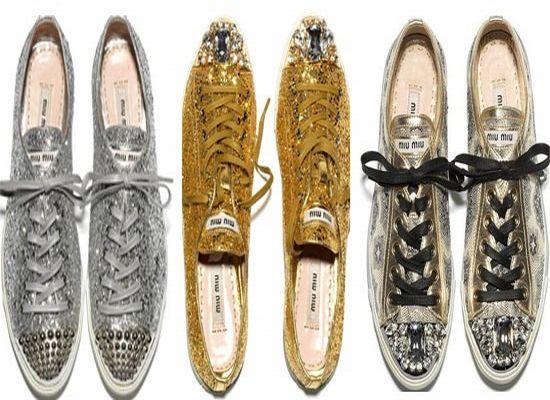 Гламурное дополнение к коллекции обуви сезона осень 2011 от Miu Miu