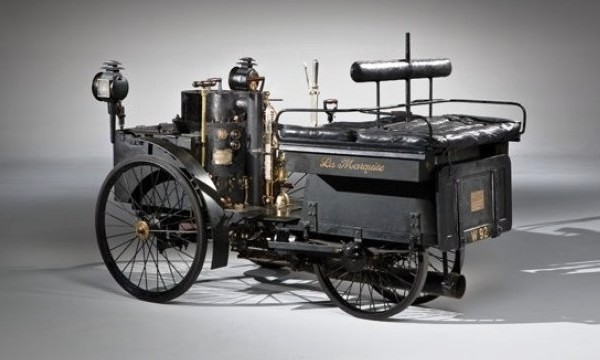 Старейший автомобиль в мире продадут на аукционе