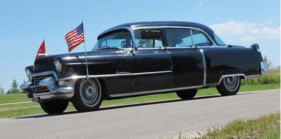 Президентский Cadillac Series 75 1955 года выставят на аукционе