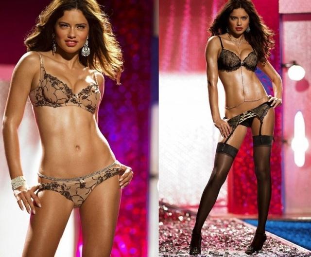 Адриана Лима снялась для Victoria's Secret