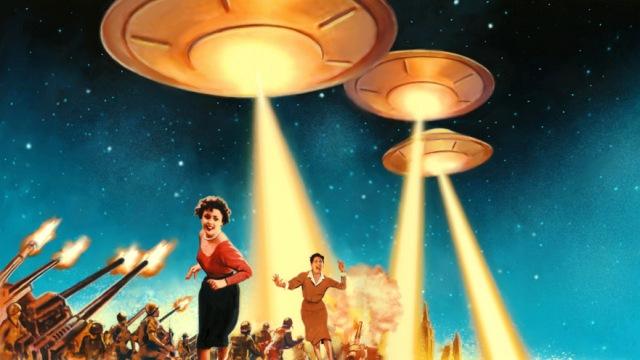 На Землю началось вторжение пришельцев