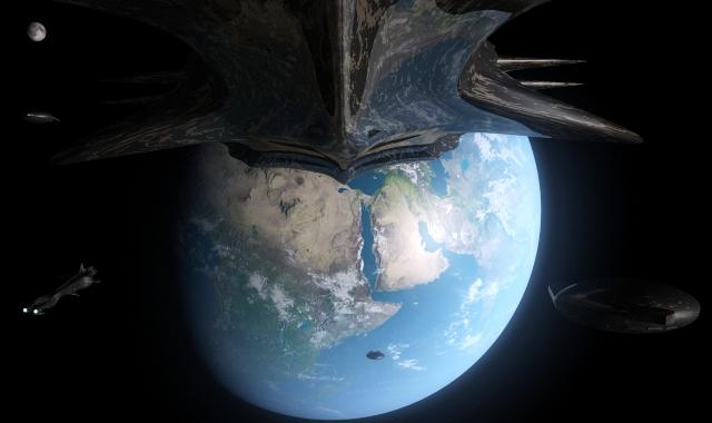 Вторжение инопланетян на Землю