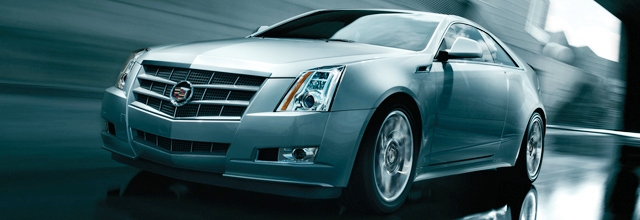 Купе Cadillac CTS 2011