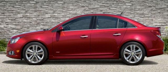Седан Chevrolet Cruze 2011