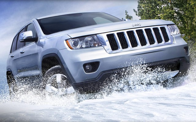Полноприводный Jeep Grand Cherokee 2011