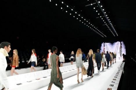 Lacoste презентовал коллекцию одежды весна-2012