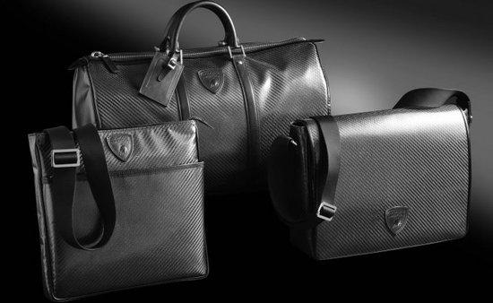 Коллекция карбоновых сумок-унисекс от Lamborghini