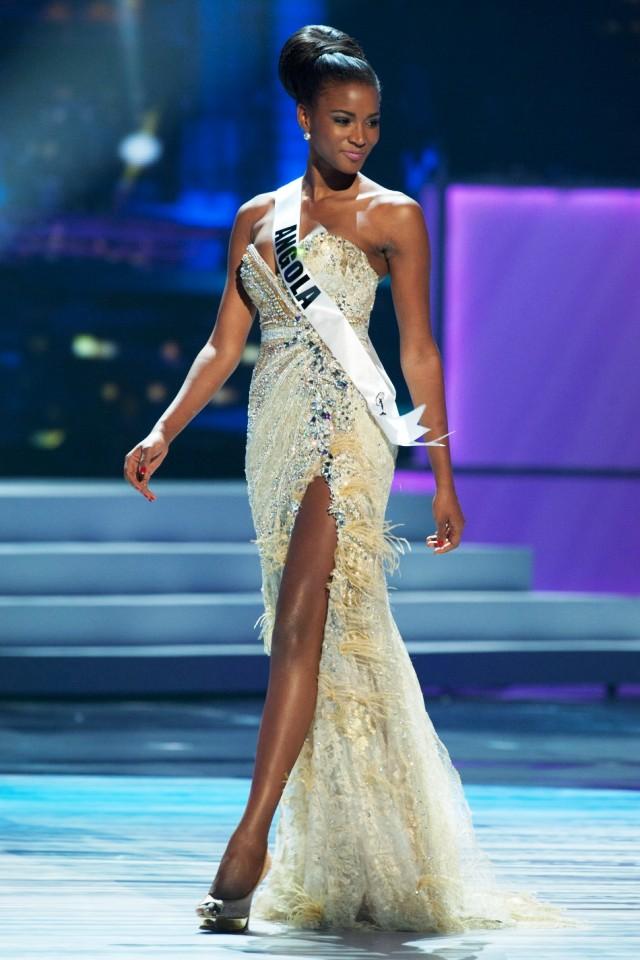 Лейла Лопес из Анголы стала «Мисс Вселенная 2011»