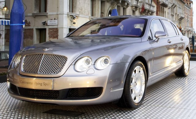 Bentley и Linley представили Continental Flying Spur для Китая