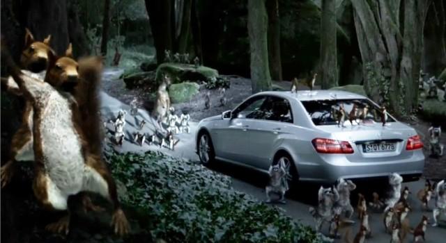 Mercedes-Benz заставил зверей танцевать