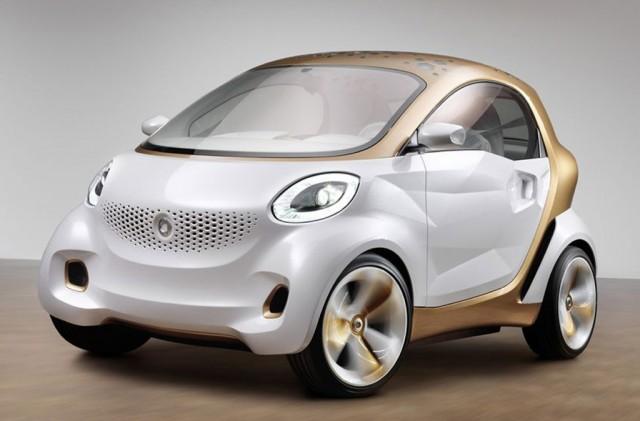 Smart ForVision - электромобиль будущего