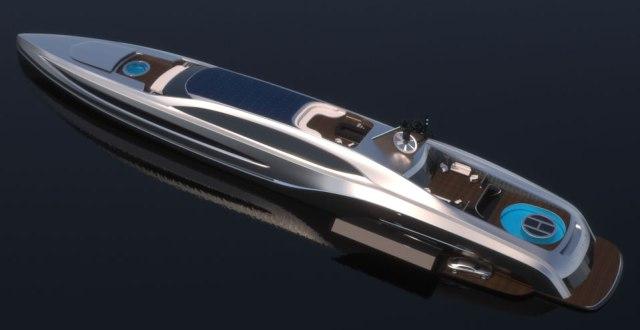 Королевская яхта Sovereign от Gray Design