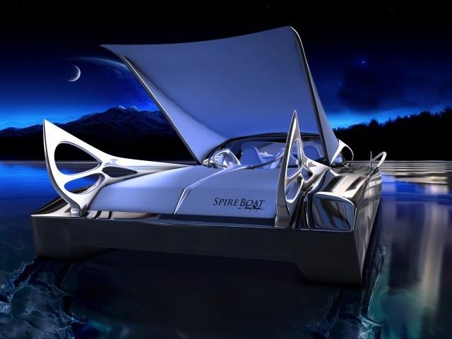 Бэткатер Spire Boat от Thierry Mugler