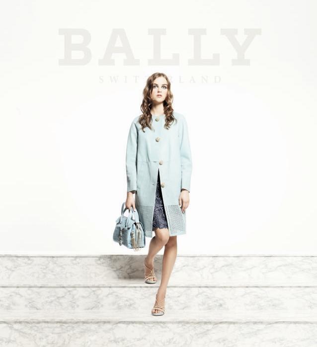BALLY в новой коллекции весна-лето 2012